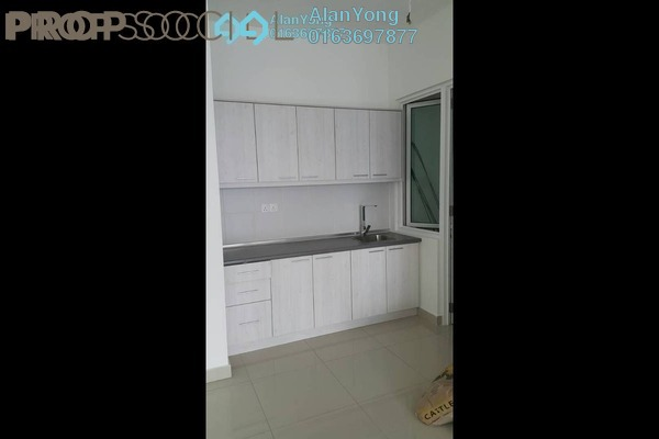 Condominium For Rent in Mercury Serviced Apartment @ Sentul Village, Sentul Freehold Semi Furnished 3R/2B 1.55k