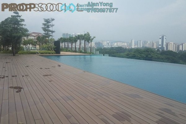 Condominium For Rent in Mercury Serviced Apartment @ Sentul Village, Sentul Freehold Fully Furnished 3R/2B 1.85k