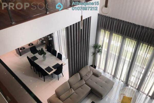 Bungalow For Sale in LakeFront Villa, Cyberjaya Freehold Semi Furnished 6R/7B 1.85m
