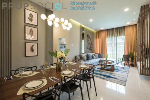 Superlink For Sale in Alstonia Hilltop Homes, Bukit Rahman Putra Freehold Semi Furnished 4R/5B 1.67m
