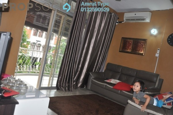 Apartment For Sale in Intan Apartment, Setiawangsa Freehold Semi Furnished 3R/2B 399k