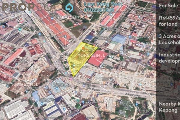 For Sale Land at Jalan Kepong, Kepong Leasehold Unfurnished 0R/0B 60m