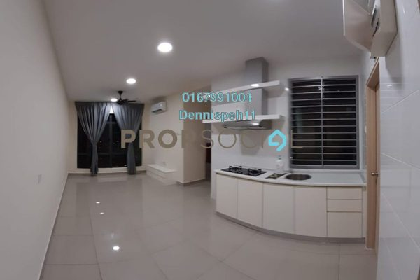 Serviced Residence For Rent in Arc @ Austin Hills, Tebrau Freehold Semi Furnished 2R/2B 1.2k