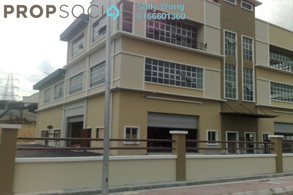 Factory For Rent in Taming Jaya Industrial Park, Balakong Freehold Unfurnished 1R/2B 17.5k