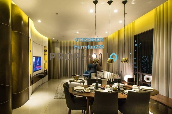 For Sale Condominium at Aria, KLCC Freehold Fully Furnished 2R/2B 1.82m