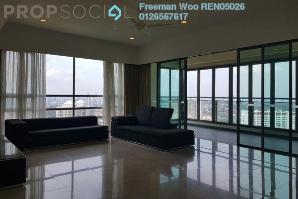 Condominium For Sale in 10 Mont Kiara, Mont Kiara Freehold Semi Furnished 4R/6B 3.08m