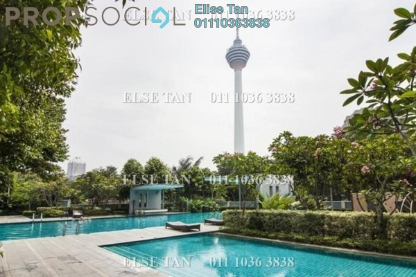 Condominium For Sale in Suasana Bukit Ceylon, Bukit Ceylon Freehold Semi Furnished 3R/2B 945k