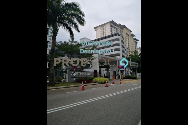 Condominium For Sale in Austin Suites, Tebrau Freehold Semi Furnished 1R/1B 299k