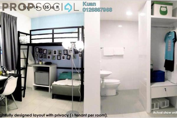 For Sale Condominium at Uni Suites, Kampar Leasehold Fully Furnished 1R/1B 78k