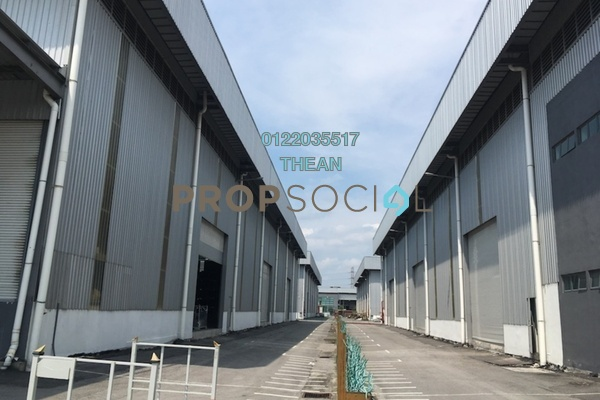 Factory For Rent in Perdana Industrial Park, Port Klang Freehold Unfurnished 0R/0B 82k