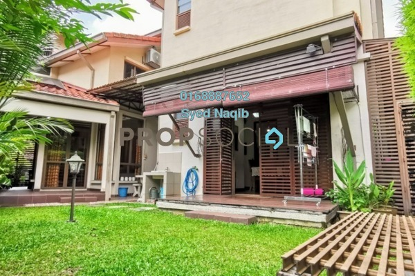 Superlink For Sale in Lagenda 1, Bukit Jelutong Freehold Semi Furnished 6R/7B 1.75m
