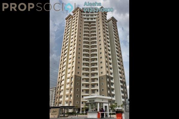 Condominium For Sale in Seri Ampang Hilir, Ampang Hilir Freehold Unfurnished 3R/1B 465k