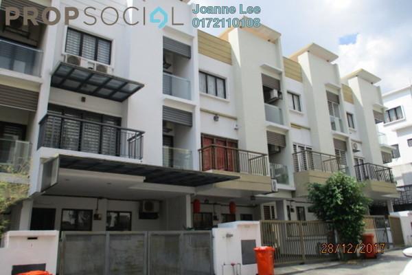 Townhouse For Sale in Westwood Terrace, Bandar Utama Freehold Semi Furnished 3R/3B 600k