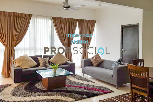 Serviced Residence For Rent in Regalia @ Jalan Sultan Ismail, Kuala Lumpur Freehold Fully Furnished 3R/2B 2.8k