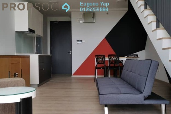 Duplex For Rent in Emporis, Kota Damansara Freehold Fully Furnished 1R/2B 1.8k
