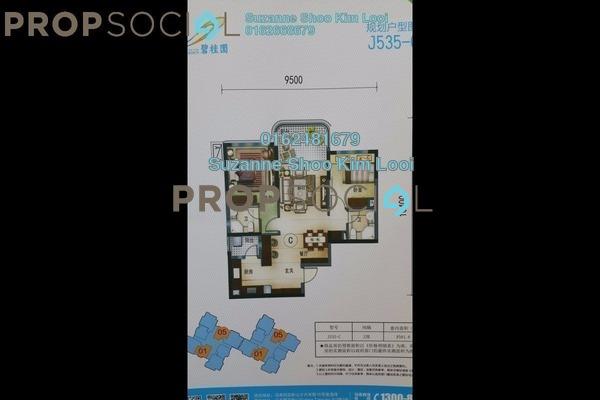 Condominium For Sale in Danga View, Danga Bay Leasehold Fully Furnished 2R/2B 788k