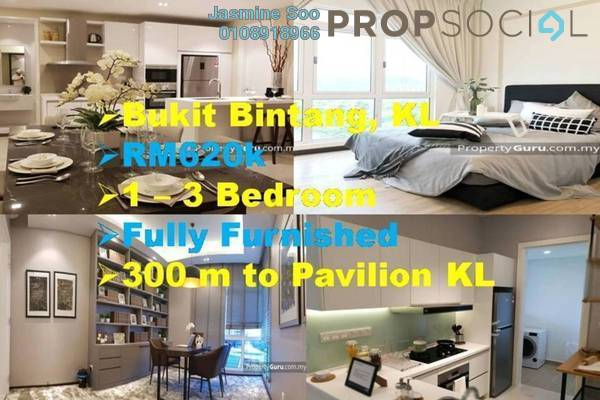 Condominium For Sale in Axon, Bukit Bintang Freehold Fully Furnished 1R/1B 630k