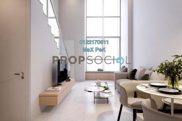 For Sale Duplex at 8th & Stellar, Sri Petaling Freehold Fully Furnished 2R/2B 478k