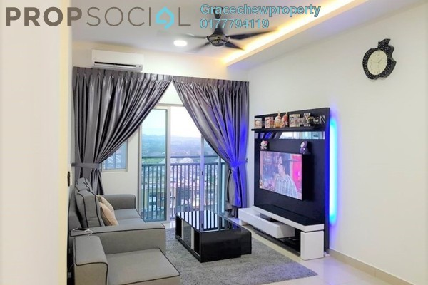 Condominium For Rent in Meridin Bayvue , Masai Freehold Fully Furnished 3R/2B 1.98k
