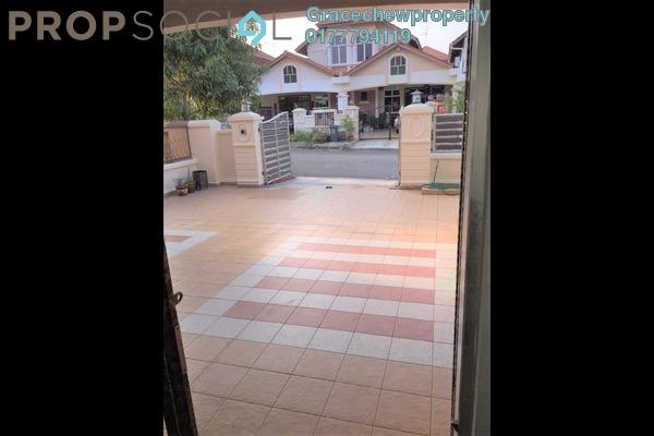 Terrace For Rent in Taman Pelangi Indah, Ulu Tiram Freehold Fully Furnished 4R/3B 1.48k