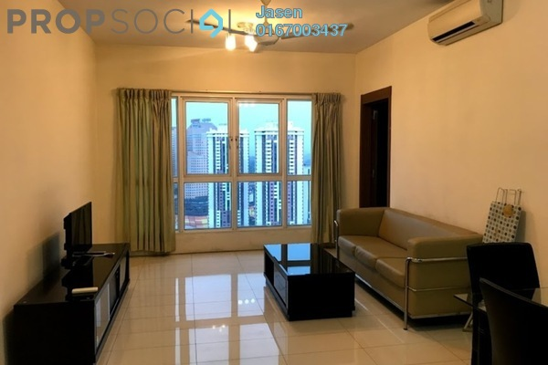 For Rent Condominium at Titiwangsa Sentral, Titiwangsa Freehold Fully Furnished 3R/2B 2.3k