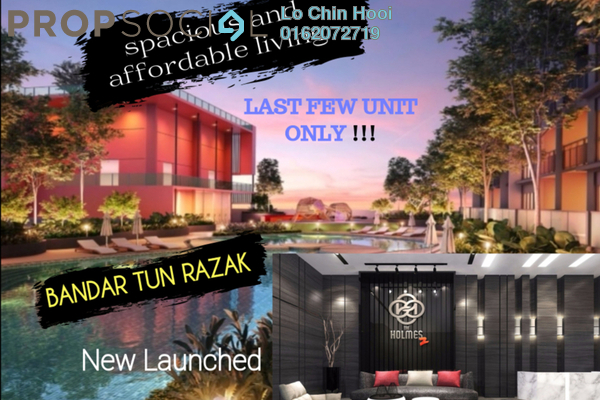 Condominium For Sale in Taman Mulia, Bandar Tun Razak Freehold Unfurnished 3R/2B 450k
