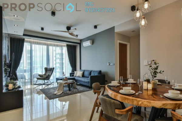 Condominium For Sale in D'Idaman Residence, Bandar Tasik Selatan Freehold Semi Furnished 2R/2B 367k