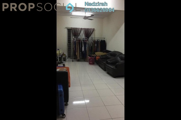 Apartment For Sale in Melur Apartment, Sentul Freehold Semi Furnished 3R/2B 370k