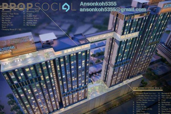 Serviced Residence For Sale in Axon, Bukit Bintang Freehold Fully Furnished 1R/1B 670k