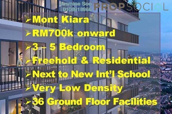 Condominium For Sale in Taman Sri Hartamas, Sri Hartamas Freehold Unfurnished 3R/3B 730k