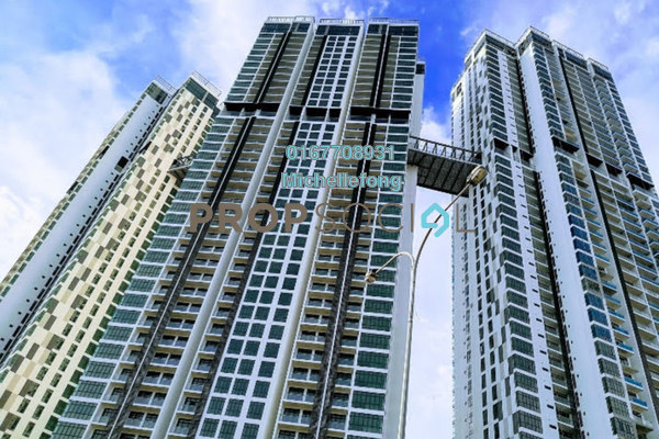 Serviced Residence For Sale in Green Haven, Johor Bahru Leasehold Semi Furnished 2R/2B 490k