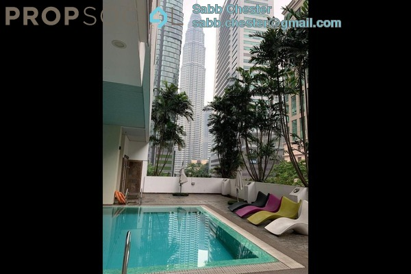 Condominium For Rent in Crown Regency, KLCC Freehold Fully Furnished 3R/3B 4.5k