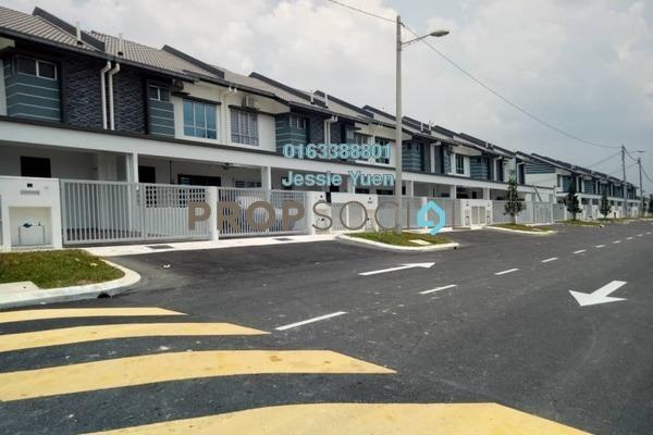 Terrace For Rent in Bandar Puncak Alam, Kuala Selangor Freehold Semi Furnished 4R/3B 1k