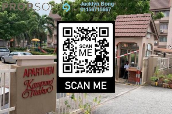 For Rent Condominium at SS1, Petaling Jaya Freehold Semi Furnished 2R/2B 1.2k