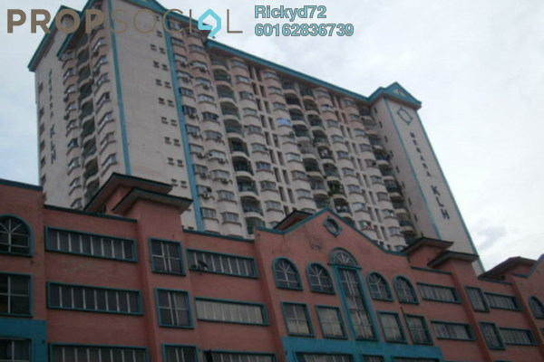 Condominium For Sale in Menara KLH, Sentul Freehold Semi Furnished 3R/2B 450k