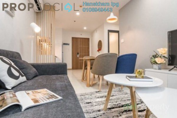 Condominium For Sale in Berlian Residence @ Setapak, Kuala Lumpur Freehold Semi Furnished 3R/2B 450k