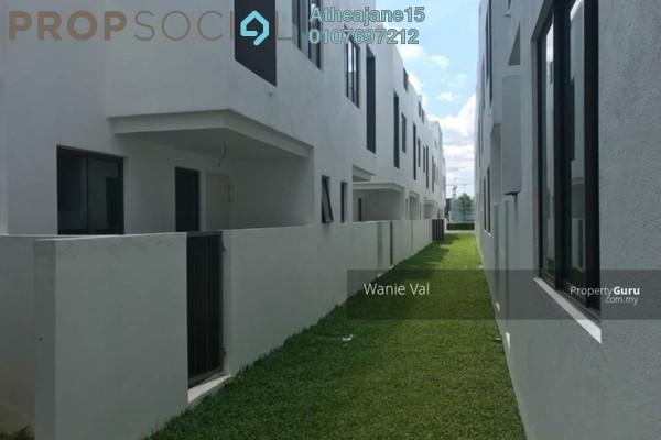 Terrace For Sale in Lake Point Residence, Cyberjaya Freehold Unfurnished 4R/4B 980k