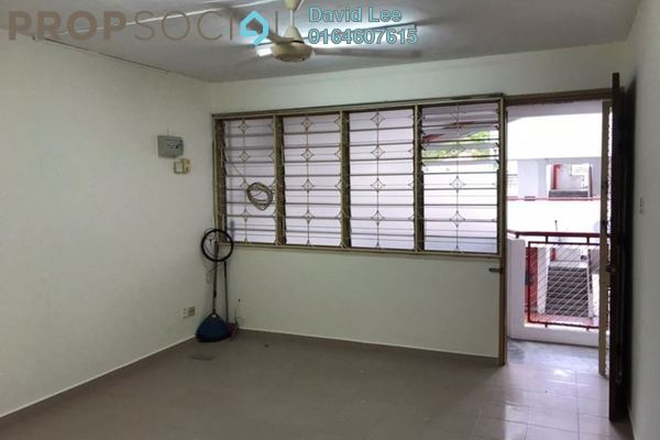 Apartment For Sale in Taman Lip Sin, Sungai Nibong Freehold Semi Furnished 3R/2B 320k