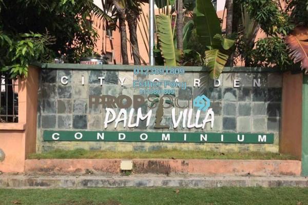 Duplex For Sale in City Garden Palm Villa, Pandan Indah Freehold Semi Furnished 5R/4B 738k