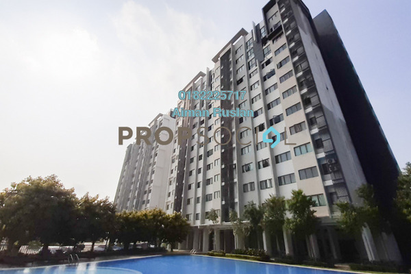 Apartment For Rent in Suria Ixora, Setia Alam Freehold Unfurnished 3R/2B 800translationmissing:en.pricing.unit