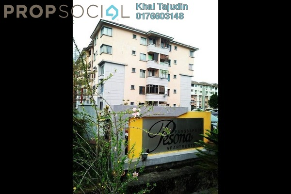 Apartment For Sale in Pesona Apartment, Kajang Freehold Unfurnished 3R/2B 250k