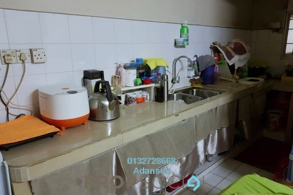 Apartment For Sale in Desa Dua, Kepong Freehold Unfurnished 3R/2B 255k