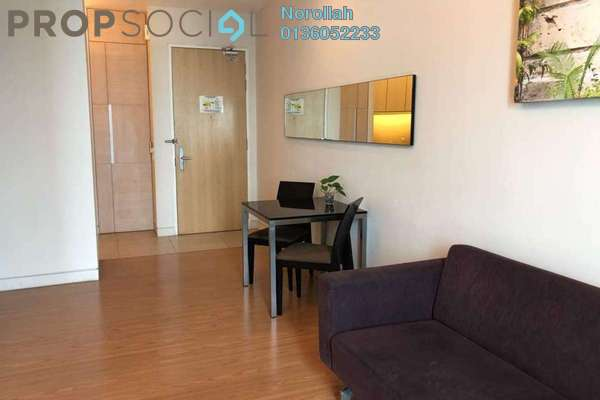 Condominium For Sale in Swiss Garden Residences, Pudu Freehold Fully Furnished 1R/1B 630k