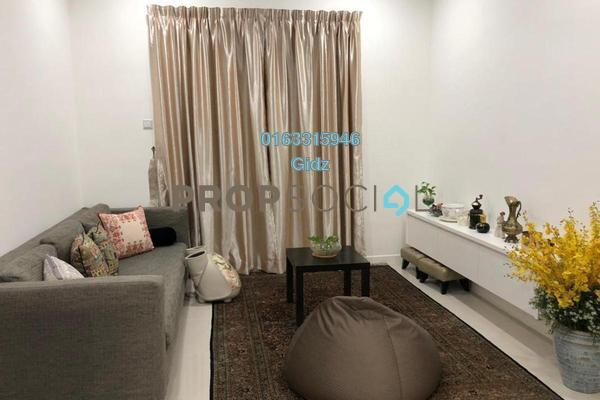 Serviced Residence For Sale in South View, Bangsar South Freehold Semi Furnished 3R/2B 950k