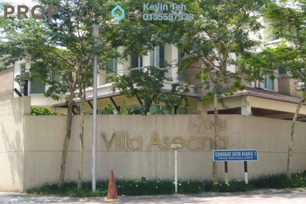 Bungalow For Sale in Villa Aseana, Mont Kiara Freehold Semi Furnished 5R/5B 7.5m