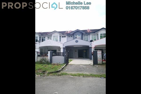 For Sale Terrace at Taman Senai Utama, Senai Freehold Unfurnished 4R/3B 320k