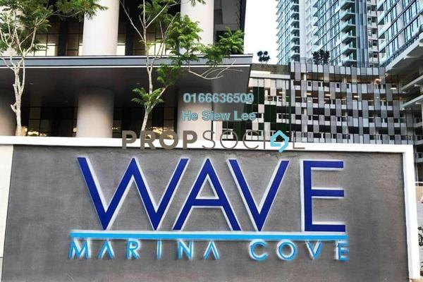 Serviced Residence For Rent in Marina Cove, Johor Bahru Freehold Fully Furnished 1R/1B 1.6k
