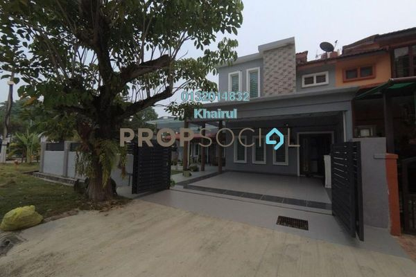 Terrace For Sale in Taman Puchong Prima, Puchong Freehold Semi Furnished 5R/3B 1m