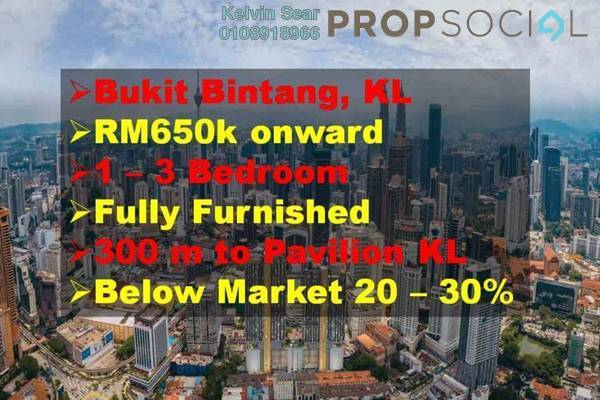 For Sale Condominium at Axon, Bukit Bintang Leasehold Fully Furnished 2R/2B 1.1m
