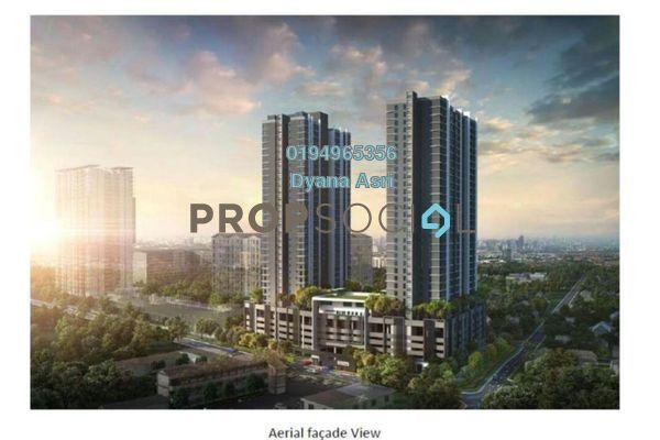 Serviced Residence For Sale in 121 Residences, Petaling Jaya Freehold Unfurnished 2R/1B 290k